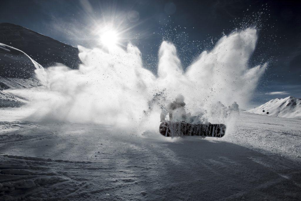 スノーボードの写真です