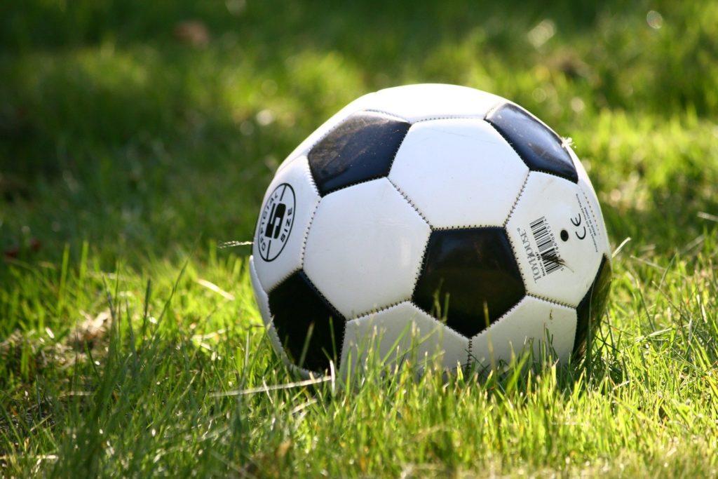 サッカーボールの写真です