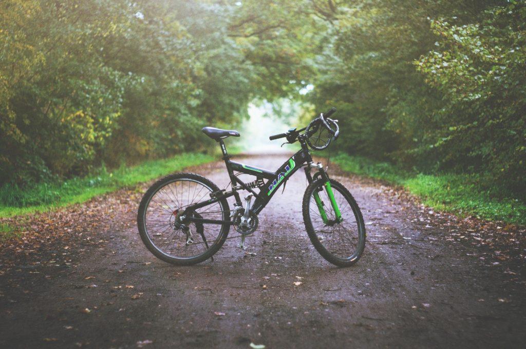 自転車の写真です