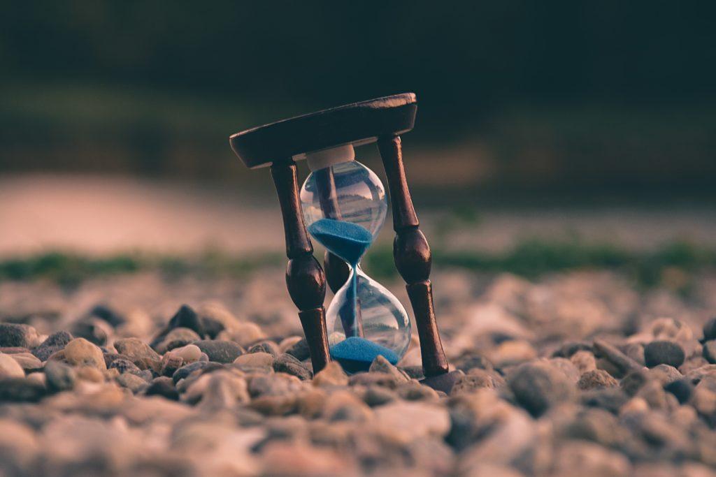 時間を示すアイキャッチ画像