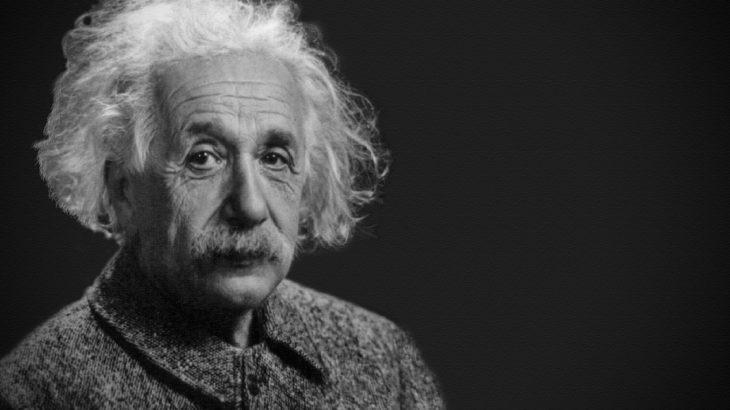 アインシュタインの写真
